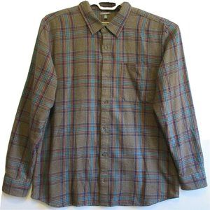 Toad&Co Earle LS Organic Cotton Plaid Button Down
